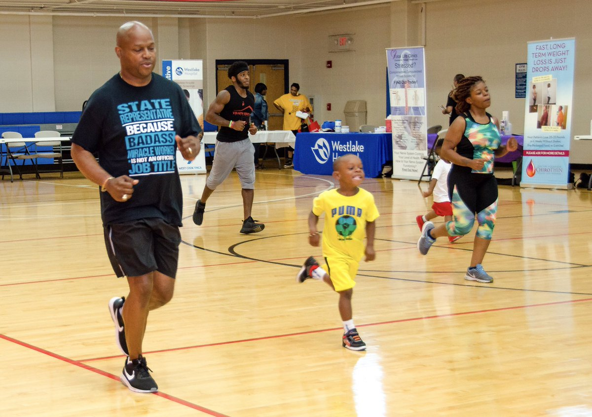 test Twitter Media - We enjoyed our monthly FREE Fitness Day Workout with @traps6_ !  We will be back at the Stevenson Center in Bellwood on Sept. 19. https://t.co/ijdizp6LK2