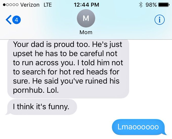 2 pic. just another work convo with the mom 🤣 SORRY DAD https://t.co/KJJ2ZzEGwa