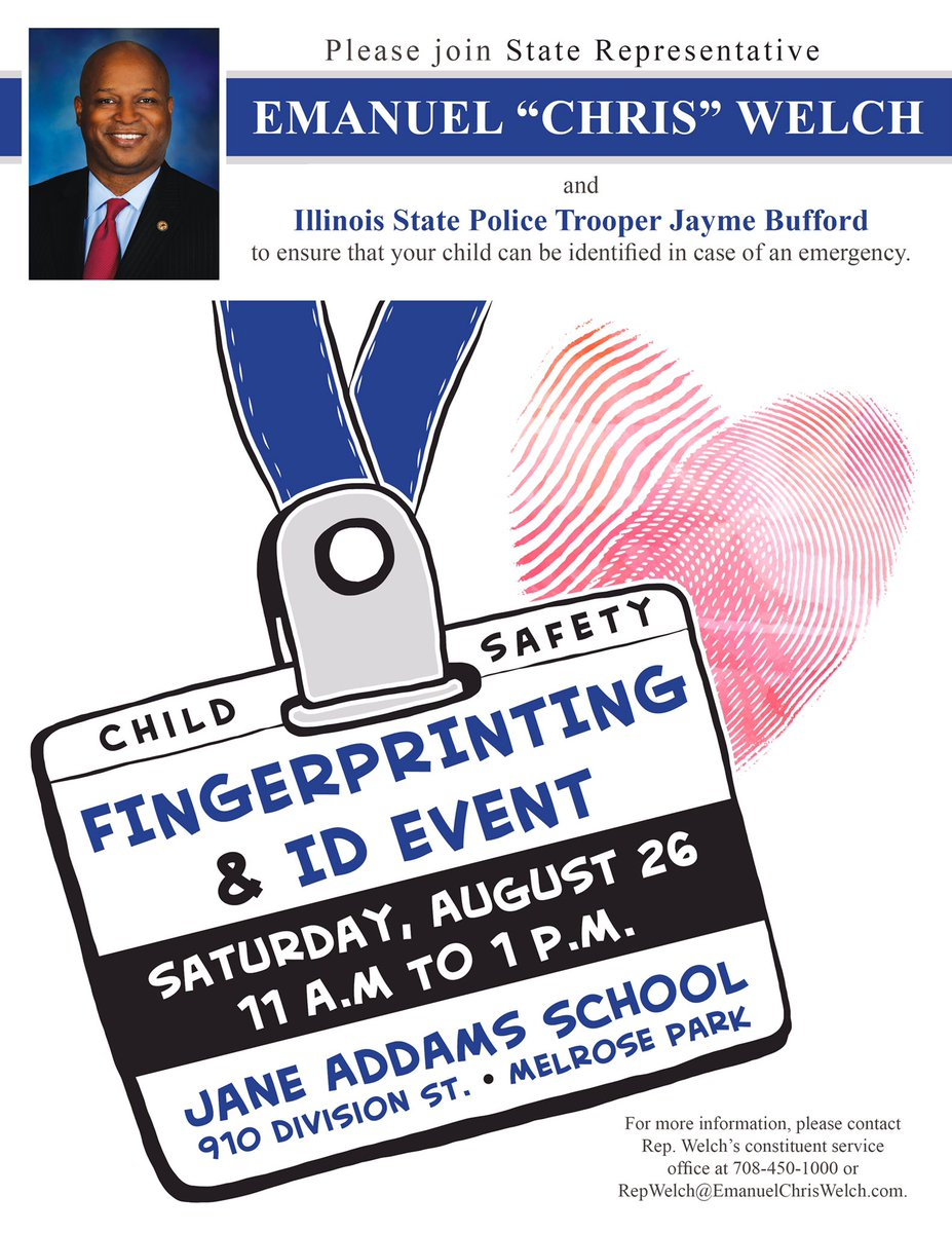 test Twitter Media - Join me at the @maywood89 Back to School Picnic on Saturday, Aug. 26 from 11-1.  Get your kids fingerprinted and 1st 50 families get a gift. https://t.co/zzgPMcBNg4