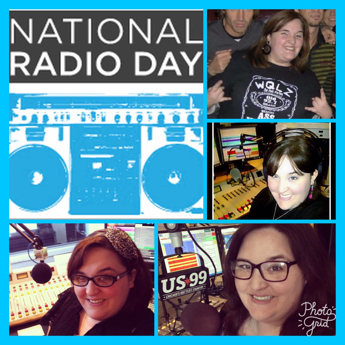 Happy #NationalRadioDay 🙌🏻 Grateful to be living my dream.. literally! #Radio #OnAir #radiodj https://t.co/BGjPnVSFPg