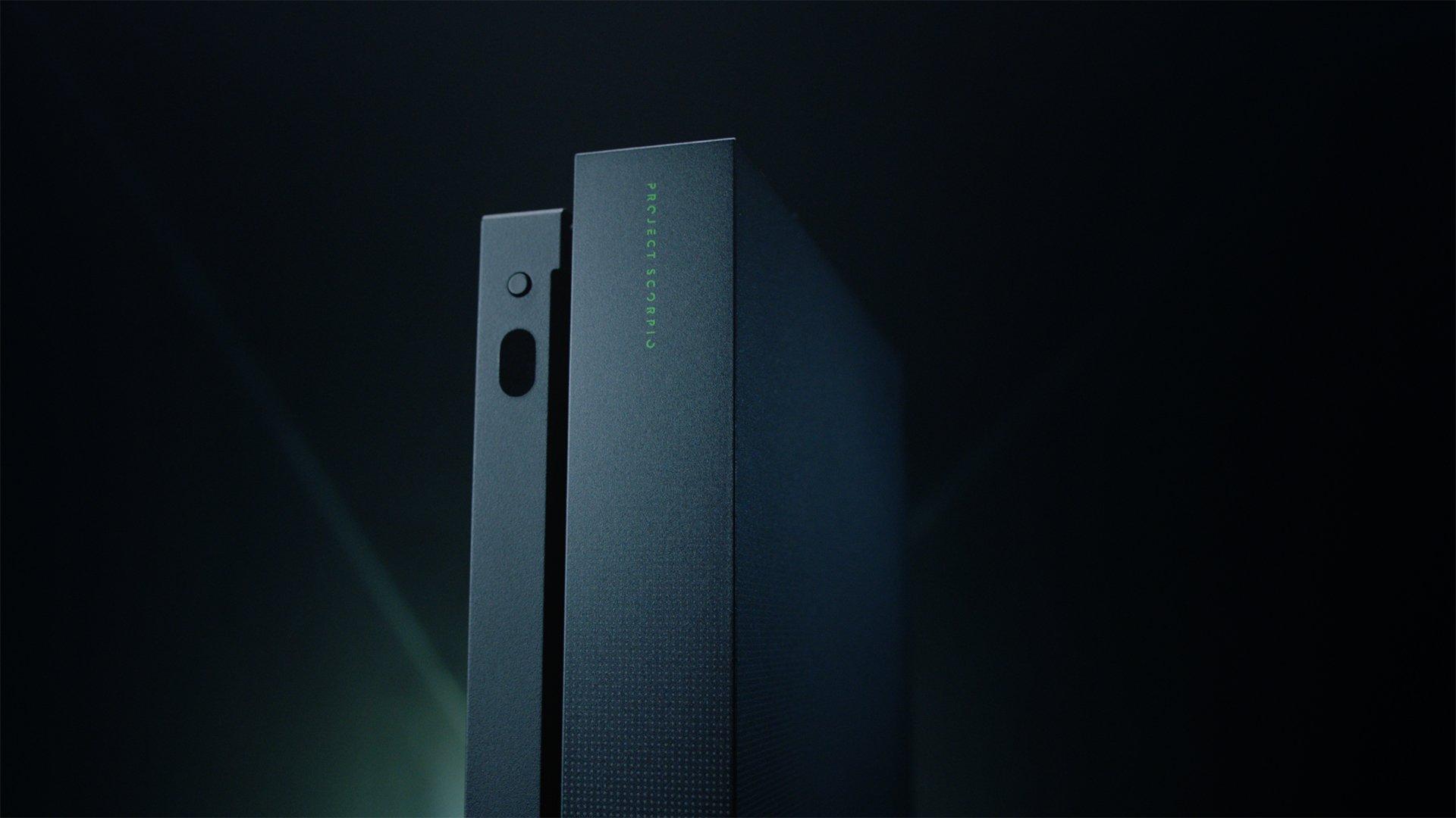 Introducing the exclusive #XboxOneX Project Scorpio Edition. https://t.co/IZ41q4Mtwm #XboxGC https://t.co/gL4lqh9jfi