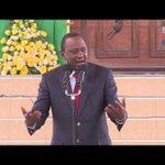 President Uhuru Kenyatta tells Kenyans to leave court battles to politicians
