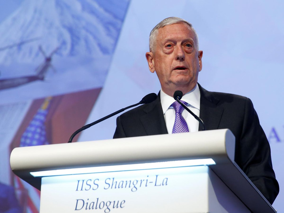 Trump has reached a decision on U.S. policy on Afghanistan, Mattis confirms