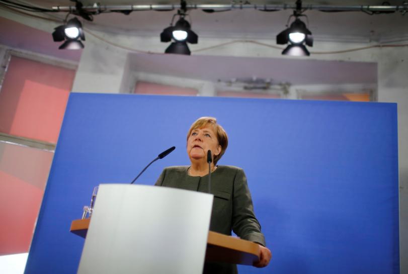 Diesel still needed to meet climate goals, Merkel says
