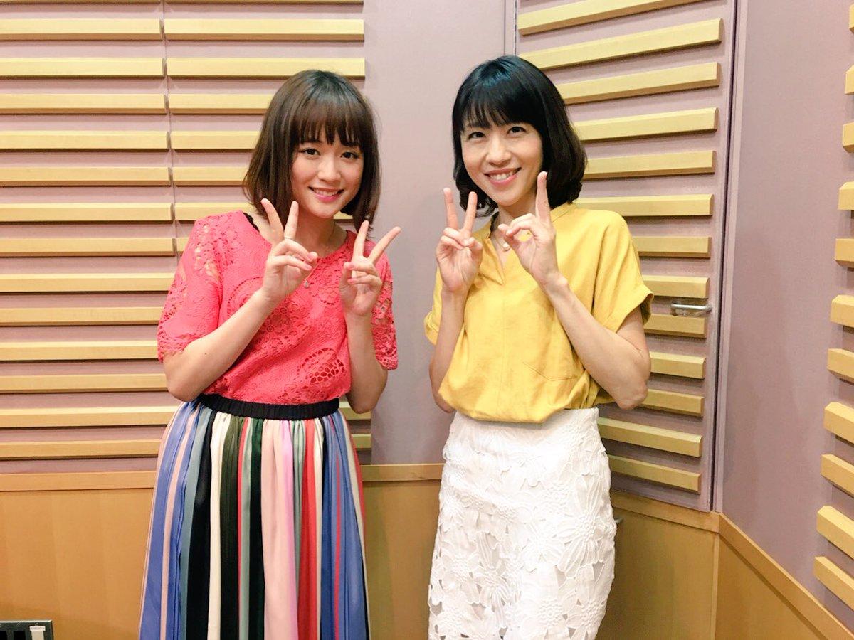 昨夜1:30からの放送では保田圭さんと大原櫻子さんとトークでした💕ラジコタイムフリーで再放送をお聴き頂けますので是非😆[