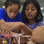 Camp at a Virginia college shows girls a future in STEM