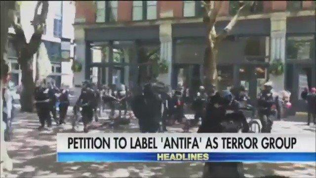 Petition to label 'Antifa' as a terrorist organization reaches key threshold