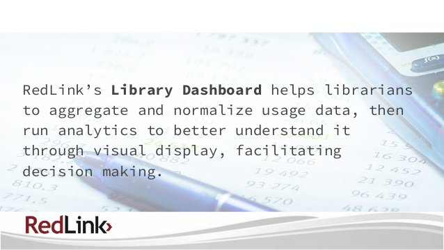 "test Twitter Media - RedLink Library Dashboard ""Getting the Most Out of Usage Data"" on Sep 14, 1:00 PM EDT. Please join us to learn more! https://t.co/GVR14IPi86 https://t.co/SrD1nUjH2K"
