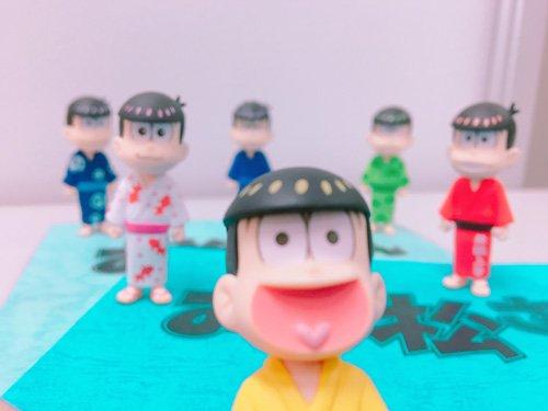 TVアニメ「おそ松さん」アフレコの方も順調に進んでおります!第2期は2017年10月より放送開始です♪#おそ松さん