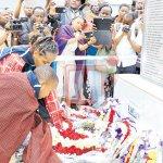 Sombre mood as Karatu bus crash survivors visit school