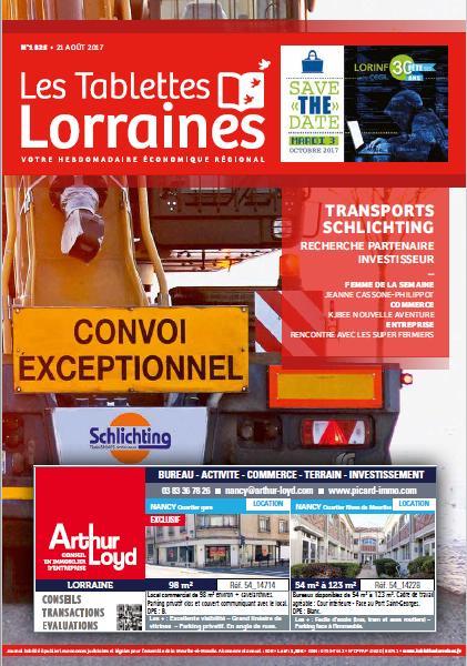 test Twitter Media - Découvrez le dernier numéro des Tablettes Lorraines en kiosque dès aujourd'hui! #transport https://t.co/CifXXOgi5b