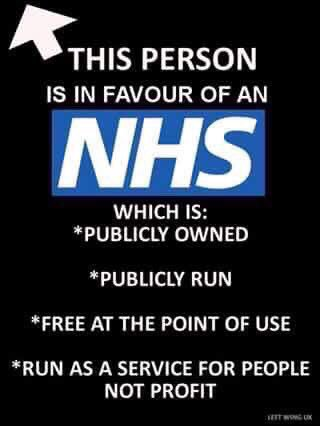 RT @NHSMillion: Pls RT and follow if you are this person and help us campaign for the NHS https://t.co/9Y43HdWU0x
