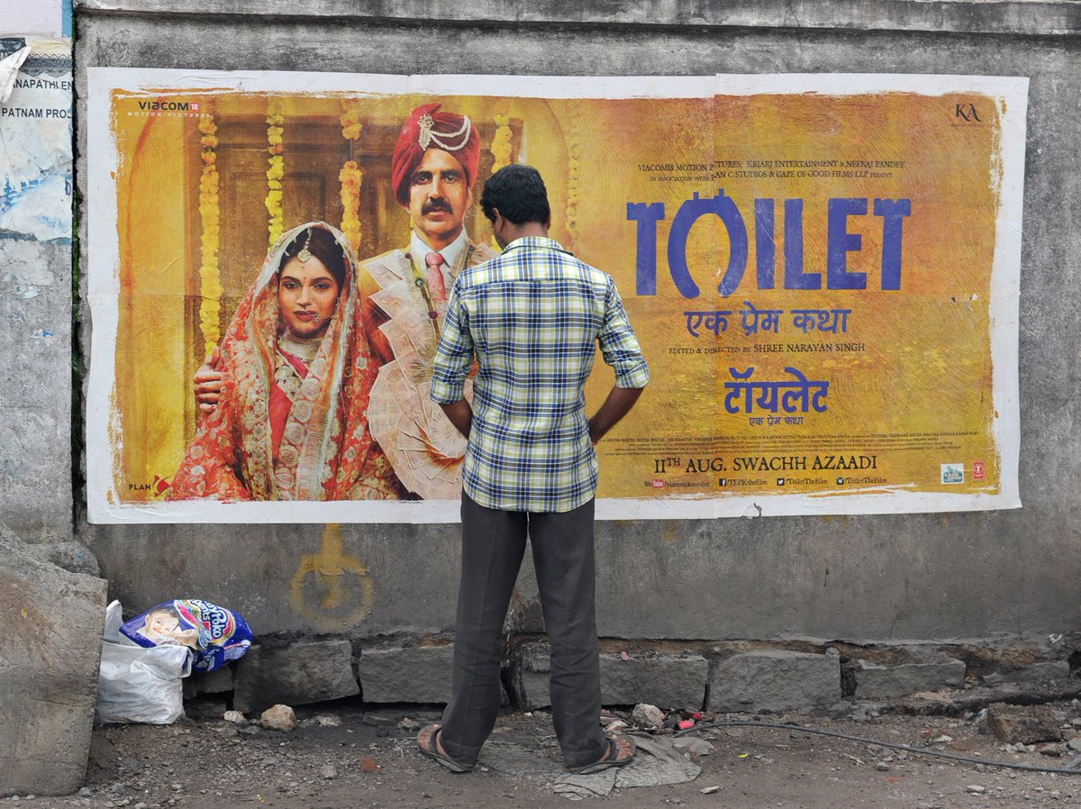 In India, a husband failing to provide a toilet for his wife can be grounds for divorce