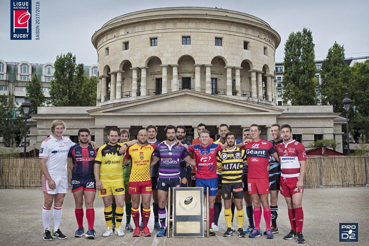 RT @rugbyprod2: #PROD2 ► La saison 2017/2018 est lancée ! Qui accédera au...