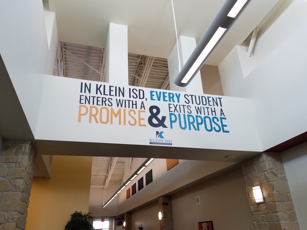#KleinFirstDay
