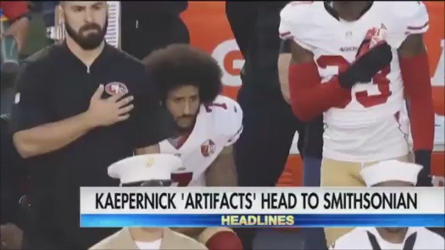 Smithsonian will soon feature artifacts from Colin Kaepernick in a Black Lives Matter exhibit