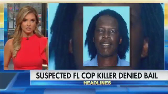 Man accused of killing 2 Florida officers denied bail