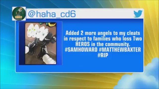 NFL player Ha Ha Clinton-Dix honors fallen police officers during preseason game