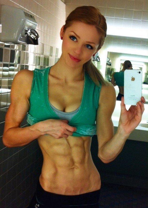 Videos de chicas musculosas