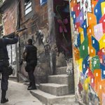 Brazilian army, police raid violent Rio favelas