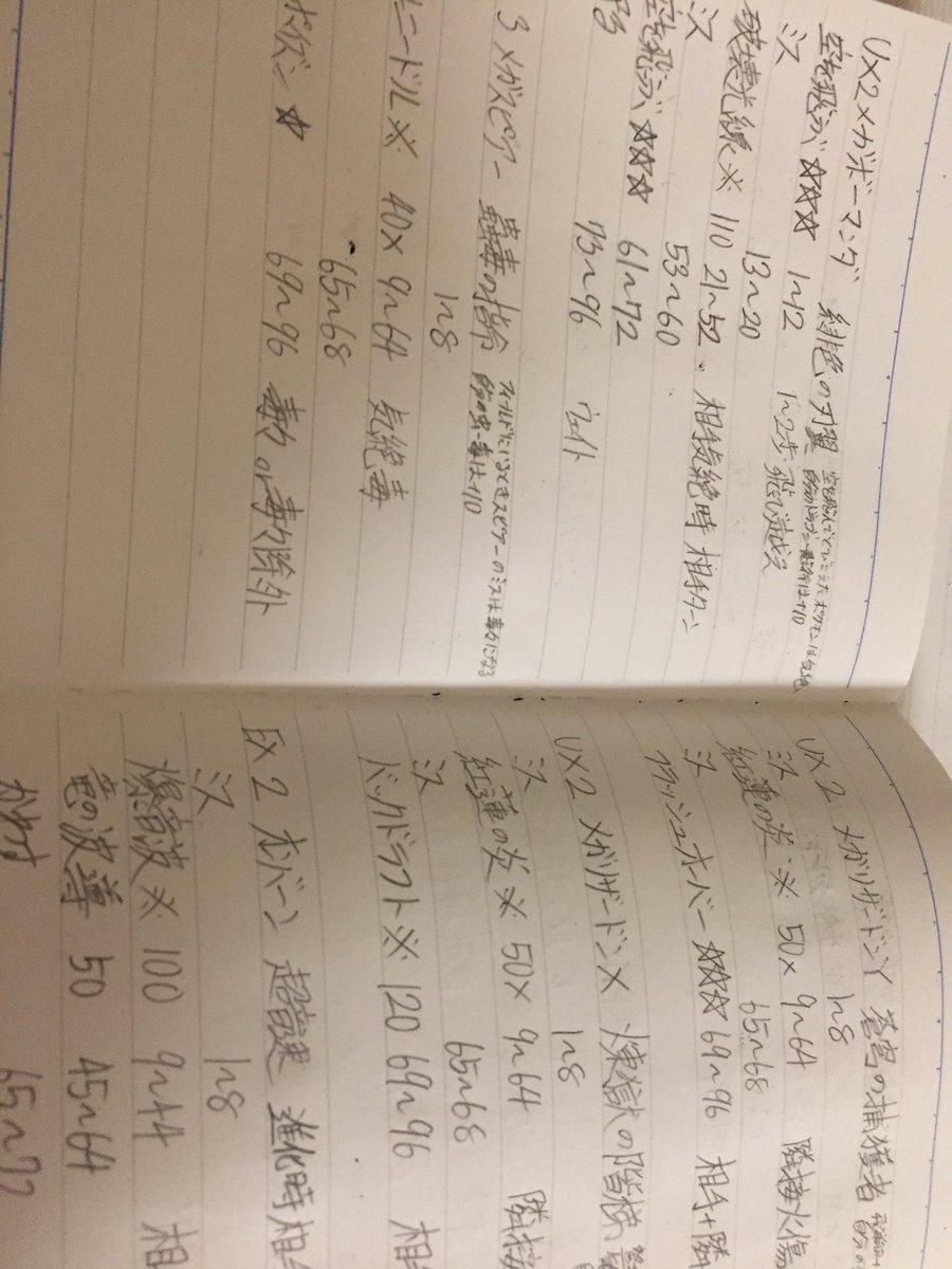 ReLIFE偉いから勉強してるUX4体EX38体書いたけどEXあと24体もいるわ