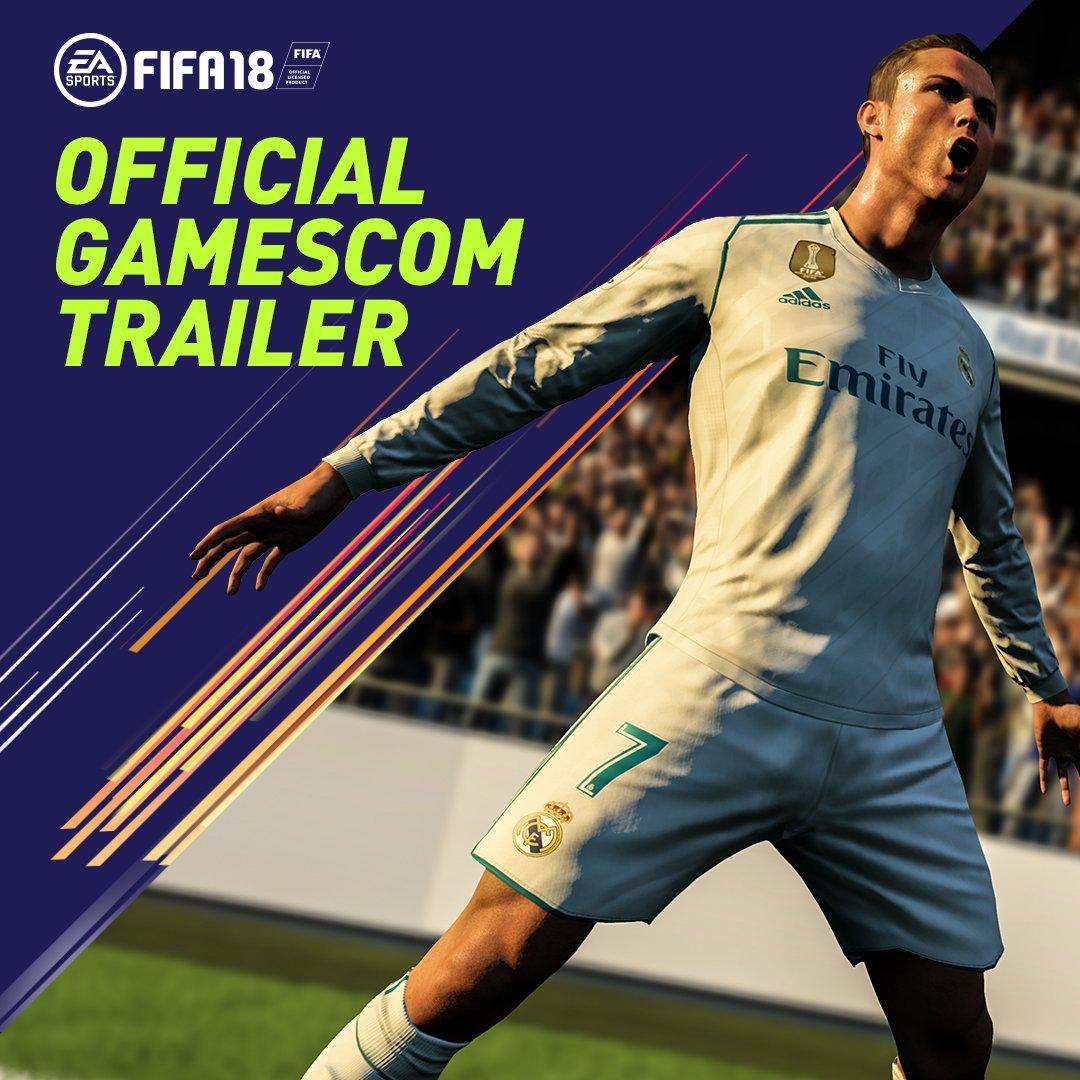 New signings, new stars, new season. Here we go!   Pre-order #FIFA18 Ronaldo Edition �� https://t.co/ZAszkVqfXx https://t.co/Pu6tUS3q8H