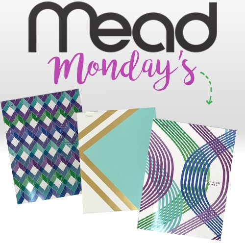 Mead Monday's: Score a Pretty Notebook and Folder Set