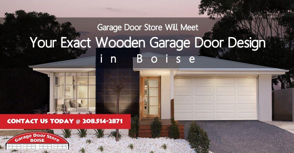 Garage Door Store Will Meet Your Exact #Wooden #GarageDoor Design in Boise....
