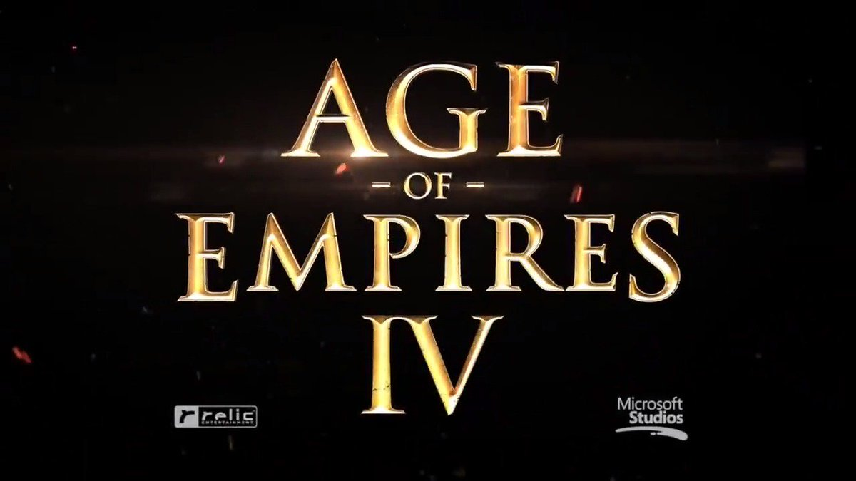 ICYMI #AgeofEmpiresIV was announced at #gamescom2017! Here's the shiny new trailer.