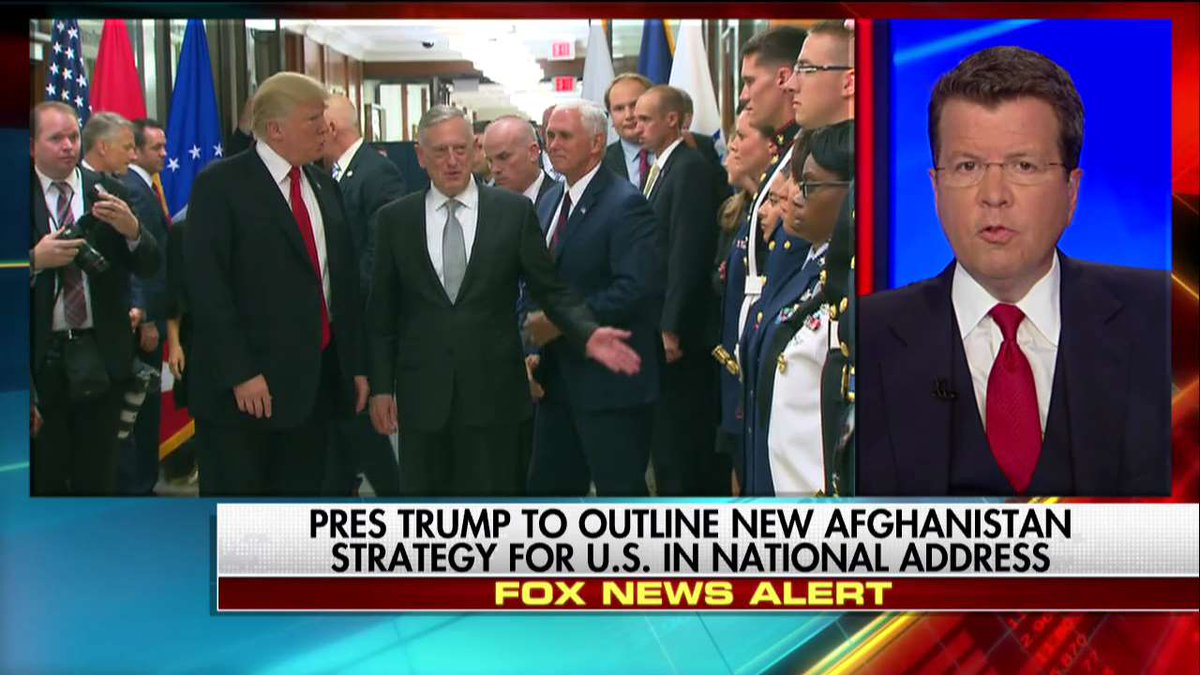 .@POTUS to outline new Afghanistan strategy for U.S. in national address tonight.