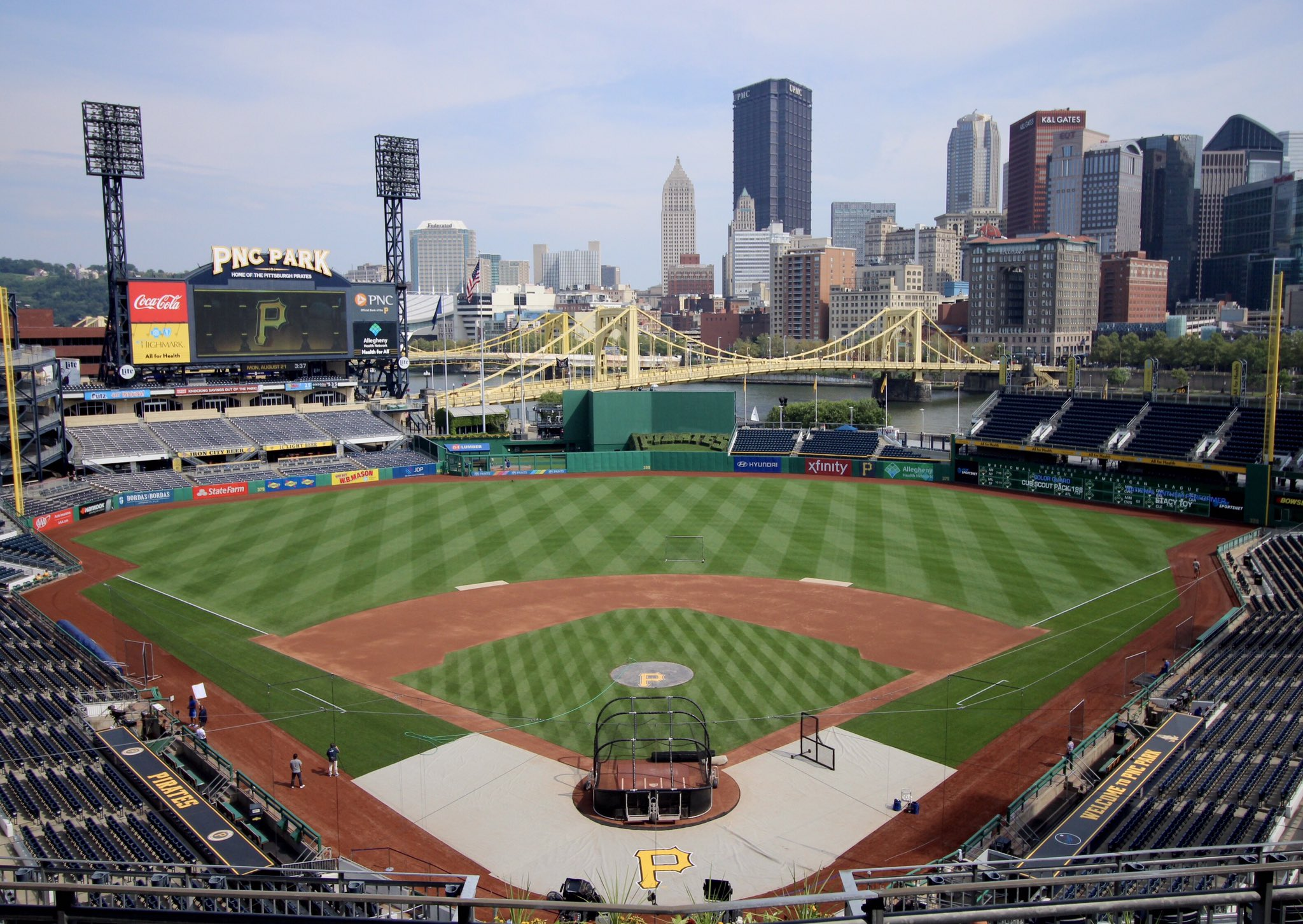 �� PNC Park, Pittsburgh https://t.co/HPBFANIPQk