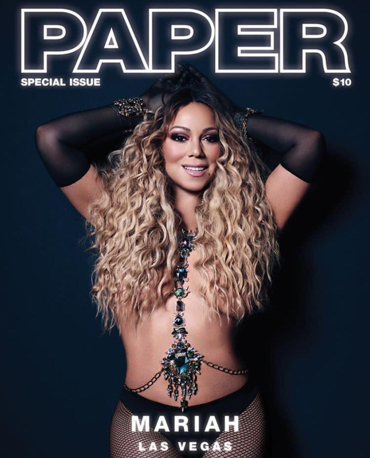 #VivaLasPaper x @papermagazine ! Pick up your copy today! @MariahCarey https://t.co/1ThCeqXmaS