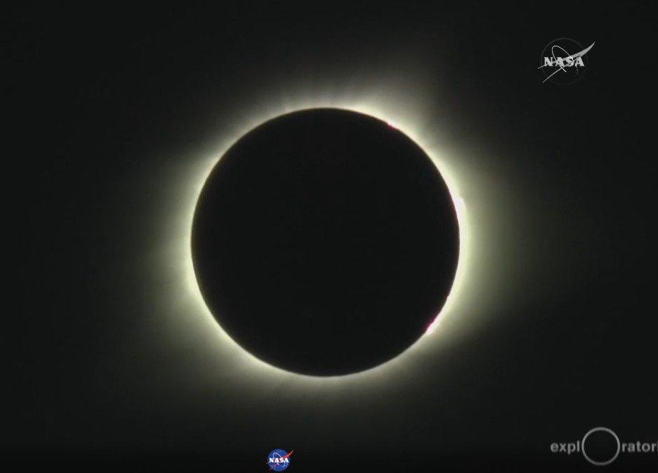 NASAちゃんもニャル子さん太陽になりました。