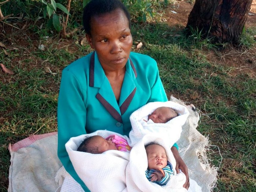 Squatter names triplets Mandago, Shollei, MP-elect