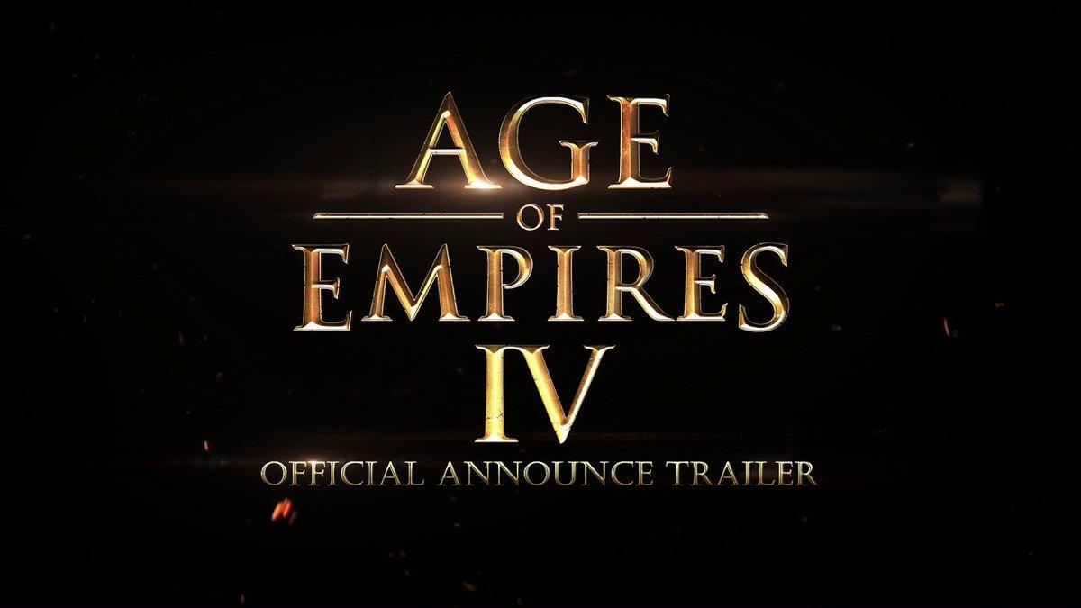 ¡Notición! Microsoft anuncia de manera oficial el desarrollo de Age of Empires IV para PC