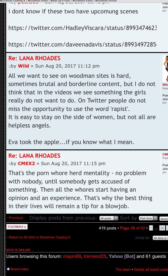 High quality conversation on woodman forum. How is this legal? bGlXGetojr