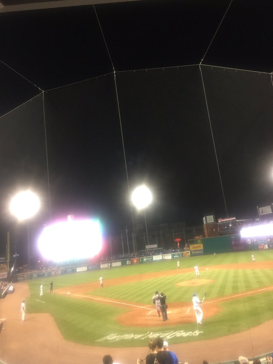 RT @prince11189: Loving the Hartford yard goat vibes even though we are scoreless in the 7th innings. https://t.co/aCap7UvbH0