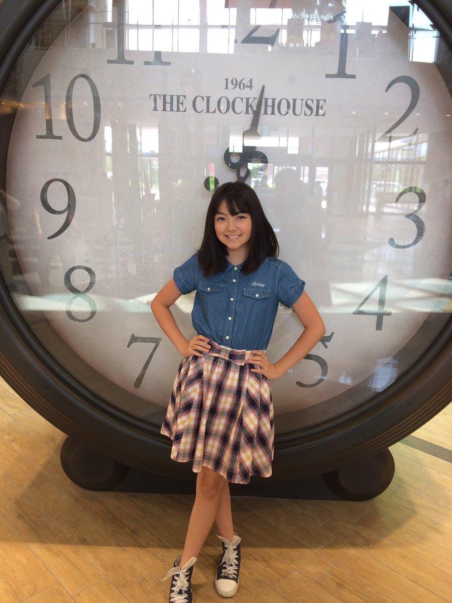 おはようございます😃こんな大きな時計🕰があったら、すぐ起きれるね〜‼️今日は、いい日になるといいな♥️♥️♥️#大きな時