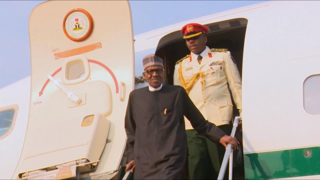 EYE ON AFRICA - Nigeria's Buhari slams divisions after a 3-month absence