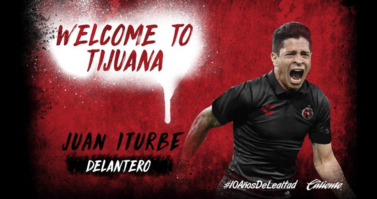 Así le dice #WelcomeToTijuana Xolos a Juan_iturbe93 #LigaMX https://t.co/juwedh8aR6 https://t.co/BvYMGOPXRb