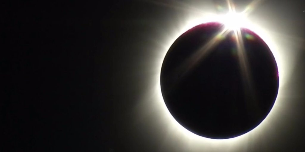 Stunning NASA video shows best shots of the total solar eclipse #solareclipse2017