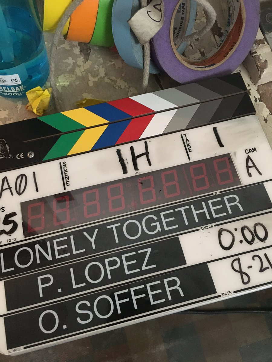 Lonely Together video shoot today! ????????‍♀️ AviciiXRita https://t.co/Te3qYY3U0L