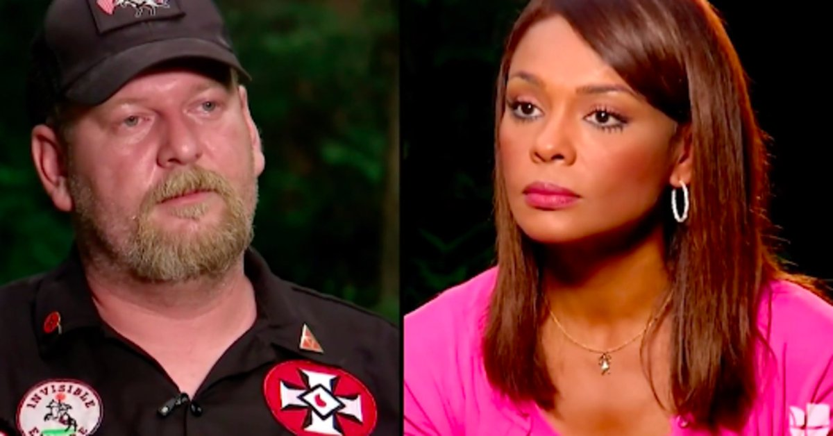 """KKK leader tells Afro-Latina journalist he'll """"burn"""" her out of his property"""