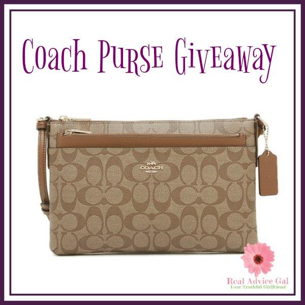 Coach Purse Giveaway (9/1 US)