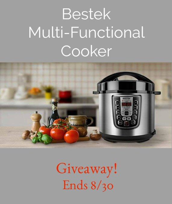 Bestek 7-in-1 Multi-Functional Cooker GA-1-US--Ends 8/30