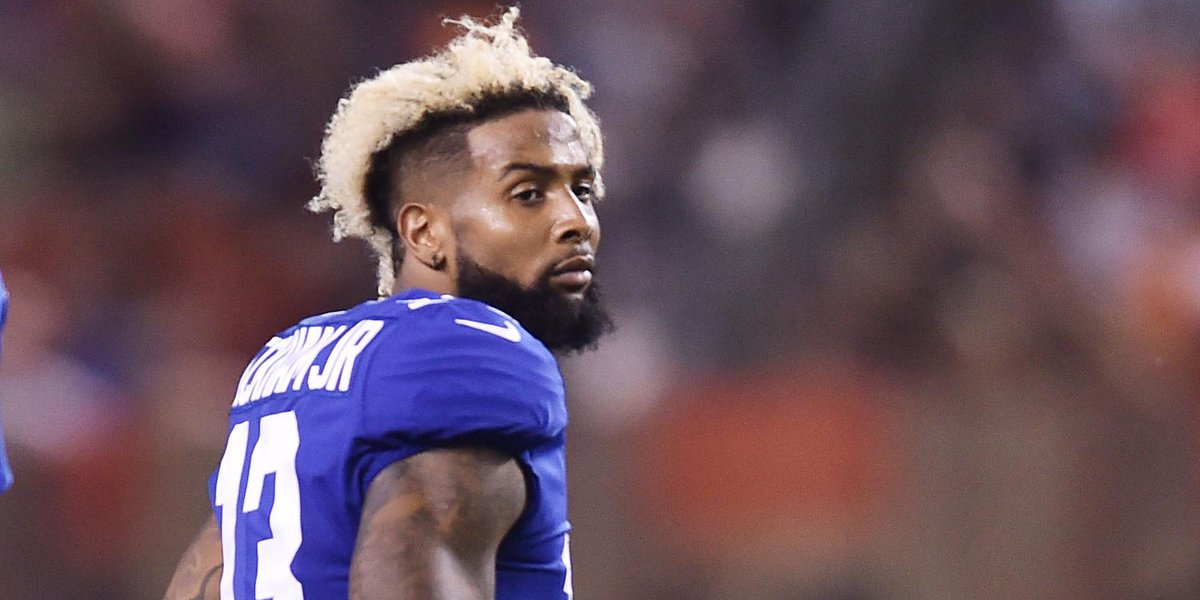 Odell Beckham Jr. suffers sprained ankle, x-rays negative