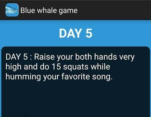 #BlueWhalegame