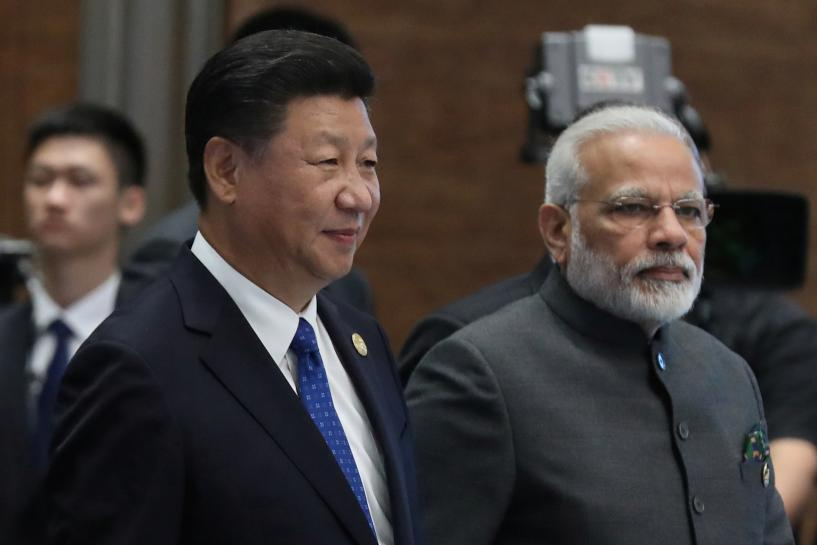 China's Xi wants to put relations with India on 'right track'