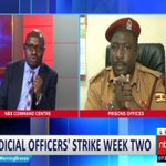 Uganda Prisons React to Judicial Officers' Stike