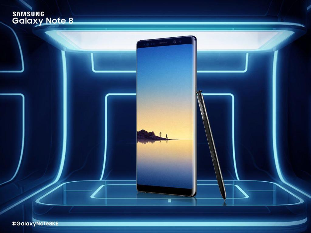 You Can Now Pre-Register For a Samsung Galaxy Note 8 in Kenya
